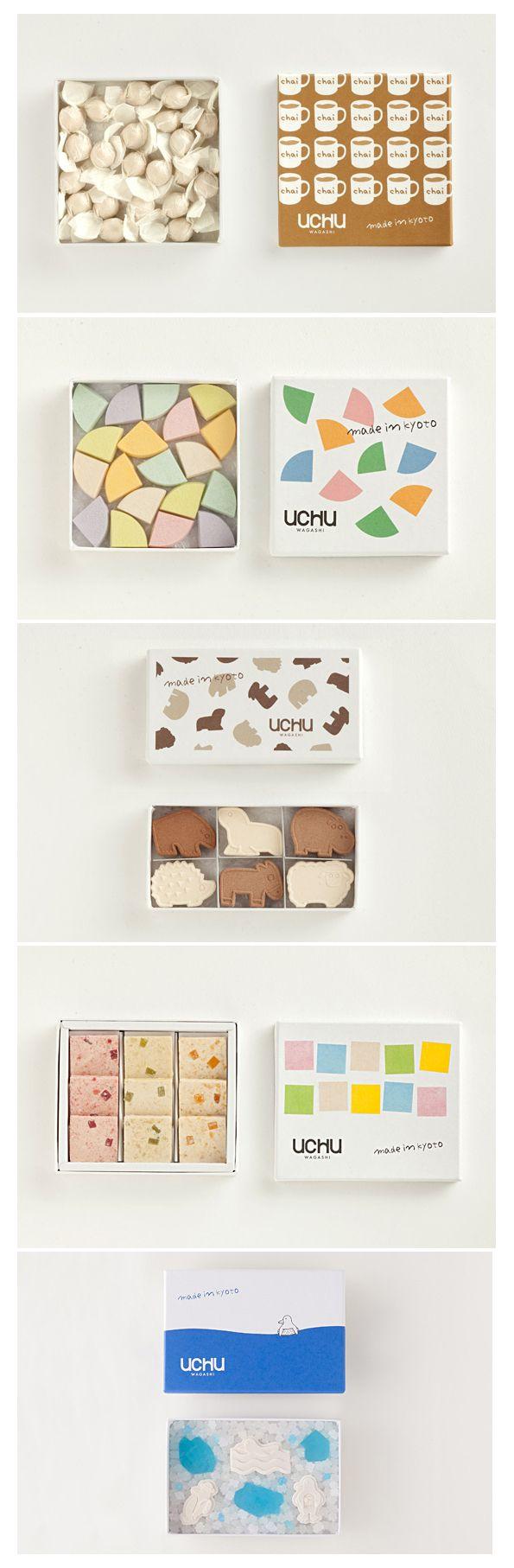 More UCHU wagashi yummy eats packaging Adriana PD