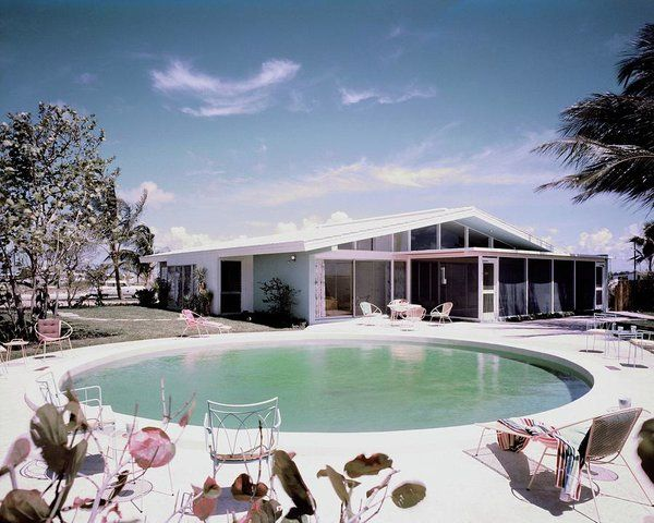 A House In Miami Art Print by Tom Leonard. All prints are professionally printed, packaged, and shipped within 3 - 4 business days. Choose from multiple sizes and hundreds of frame and mat options.