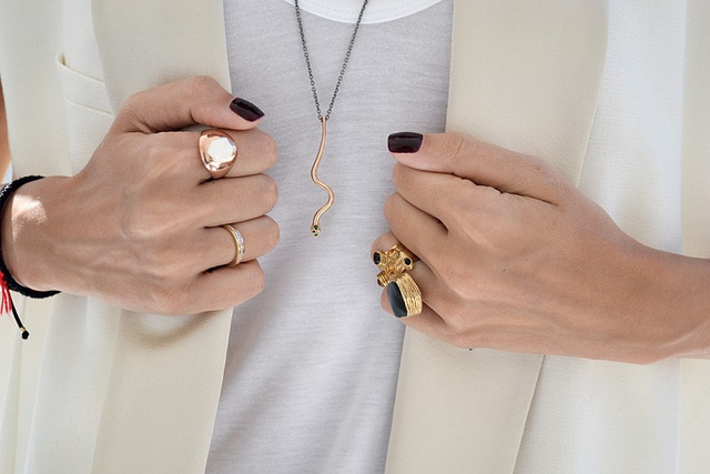 Snake, black, gold, roseFashion, Gold Jewellery, Style, Design Clothing, Black Nails, Gold Rings, Gold Accent, Black Gold, Accessories