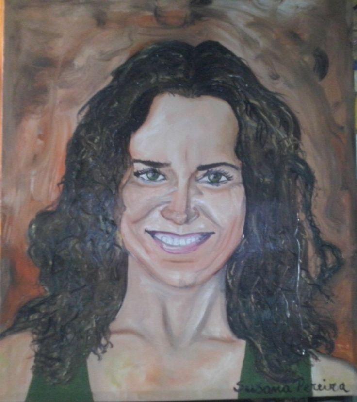 oleo sobre tela 70 x 80 de Katherine Salosny. Pintado por Susana Pereira