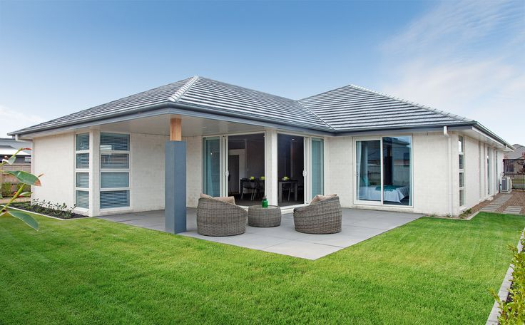 The living is easy with this outdoor and indoor environment.