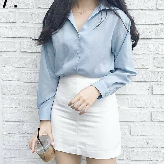 Women Classic Outfit Inspiration Style Autumn 2020 Sweet K Pop Amazon Tiktok Highschool In 2021 Korean Fashion Korean Fashion Trends Ulzzang Fashion