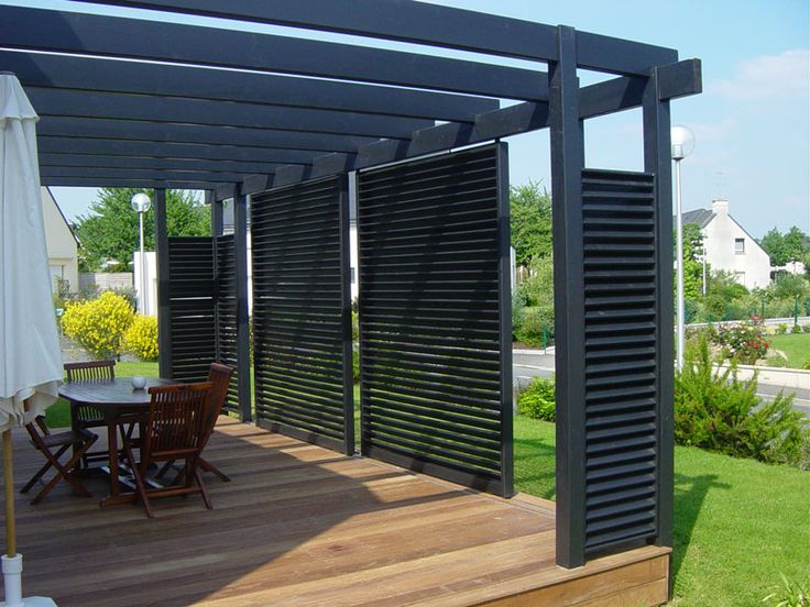 Las 25 mejores ideas sobre gazebo en bois en pinterest gloriette de jardin carport en bois y for Idee terrasse contemporaine