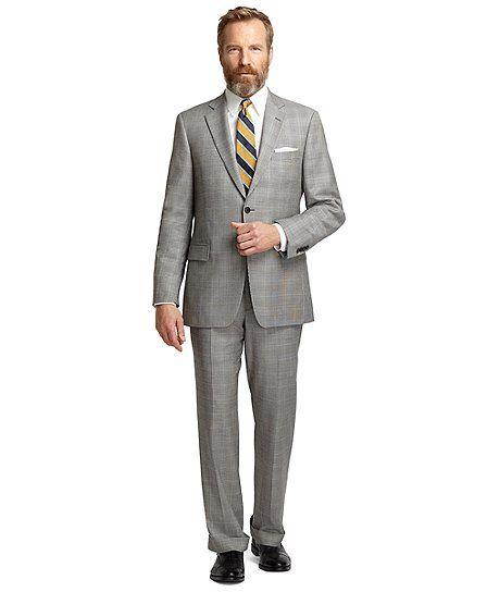 Brooks Brothers Madison Plaid #suit #menswear