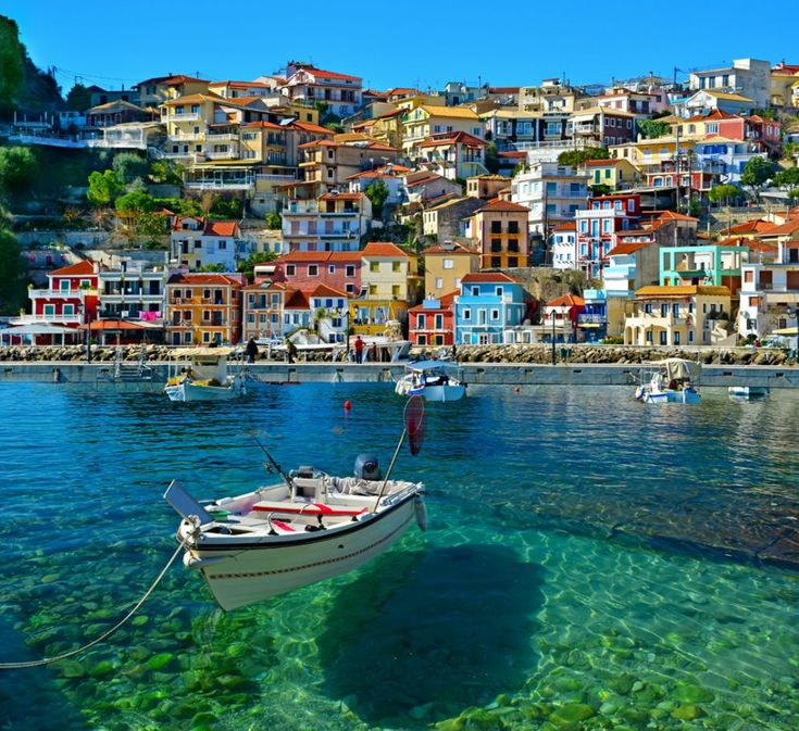 Beautiful #Parga in northwestern #Greece