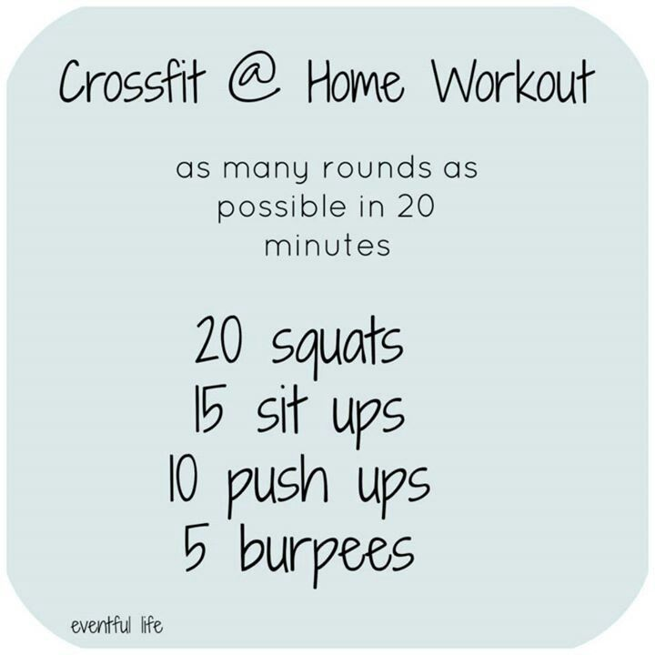 Crossfit Workout Routines: Crossfit ARMP (Squats, Sit Ups, Push Ups, Burpees