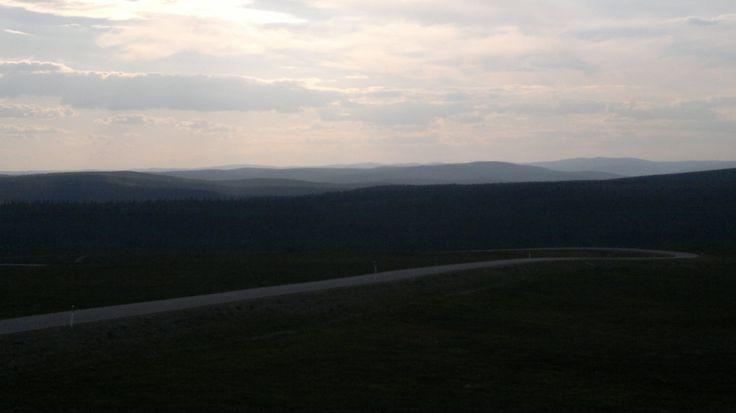 View from Kaunispää, Saariselkä, Lapland