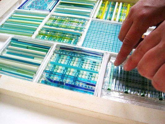 fused glass pattern bar instructions - Google Search