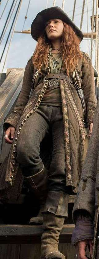 She's Anne Bonny and you're not (Black Sails)