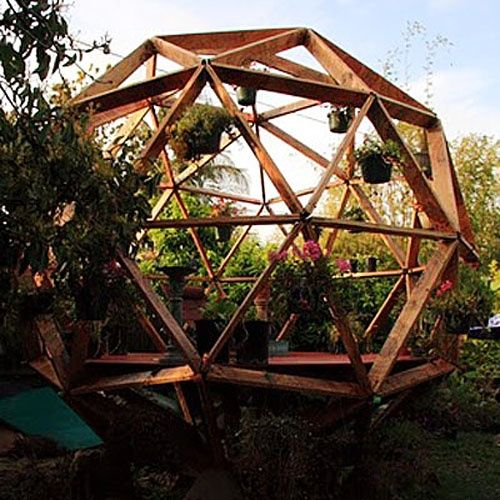 Wood Geodesic Dome Plans: 203 Best Geo Dome Home Images On Pinterest