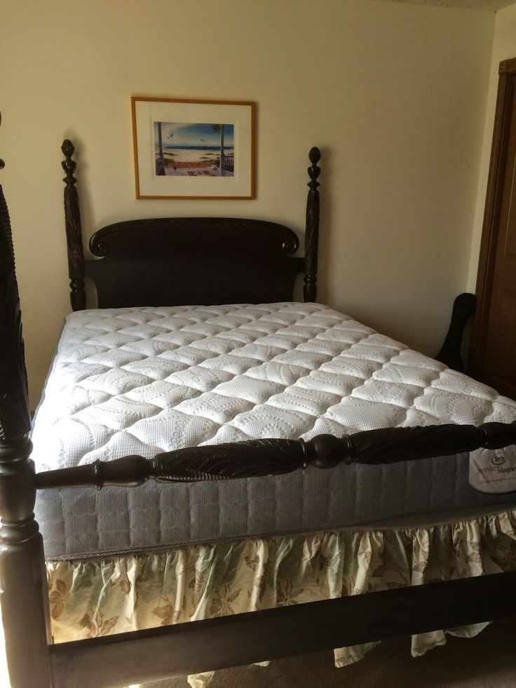 Original Full Size Antique Bed It Was The Week Before Indy 500 Race And