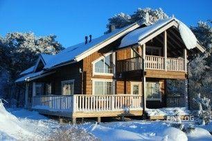 Зимний дом из клееного бруса Helena (155 m²)