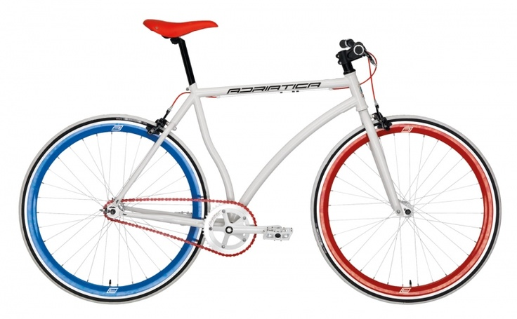 Adriatica Achillis White - #Bikes from #Bicykle - get more on www.bicykle.com.pl