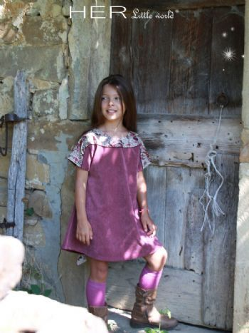 Sewing Pattern dress for girl