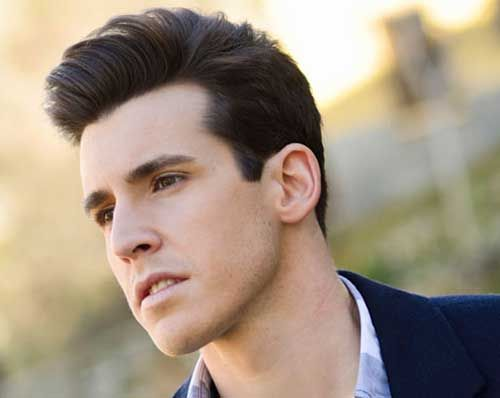 Cool Men Dark Brown Hair Potential Hairstyles
