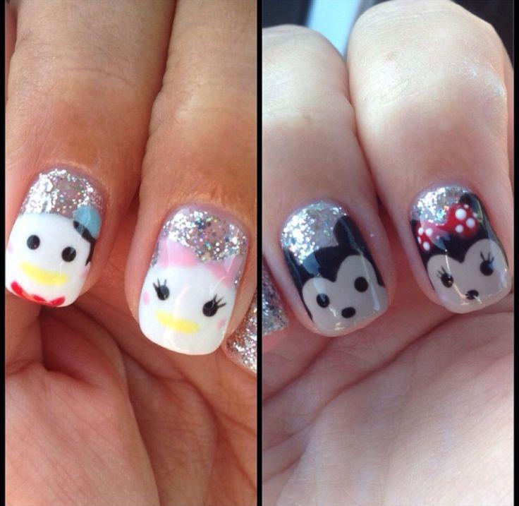 Mejores 34 imágenes de Disney Nails en Pinterest   Arte de uñas ...