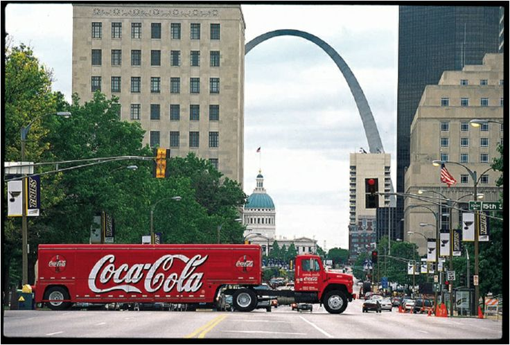 Coca-Cola Enterprises Side-Load Truck