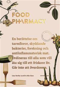 Vad har goda bakterier, Platon, gröna bananer, vetenskapliga studier, kärlek och gurkmeja gemensamt?Att leva ett så friskt liv som möjligt är till stor del kopplat till vad du äter. Bloggen Food Pharmacy, som drivs av Mia Clase och Lina Nertby Aurell, handlar om just detta. Nu kommer också boken om hur du äter den mest hälsosamma och antiinflammatoriska maten, och allt serveras med en rejäl portion humor.Det här är en berättelse om inflammation, tarmfloror, onda och goda bakterier…