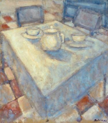 """Saatchi Art Artist simone Butturini; Painting, """"White teapot"""" #art"""