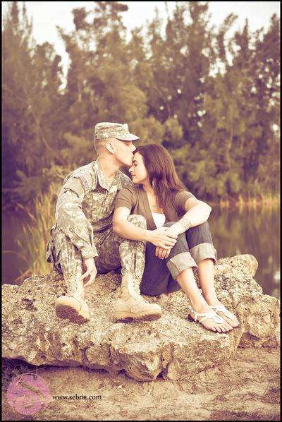 Military Lakes Park Engagement Session » Sebrie Images Photography