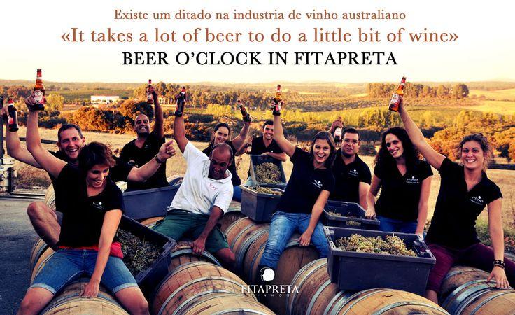 Beer O'Clock!!! www.fitapreta.com