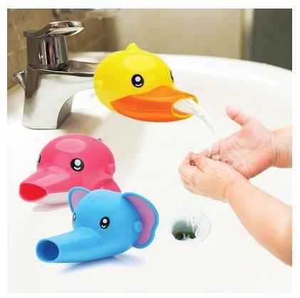 Faucet Extender For Helps Children Toddler Kid Hand Washing in Bathroom Sink bathroom accessories