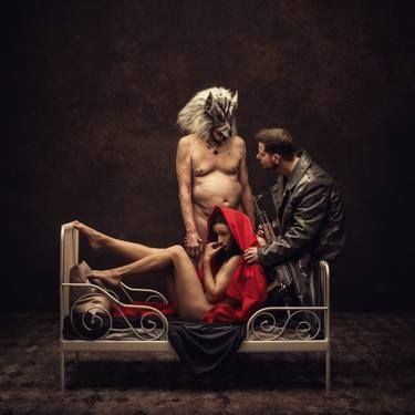 "Saatchi Art Artist Peter Zelei; Photography, ""Little Red Riding Hood - Limited Edition 1 of 3"" #art"