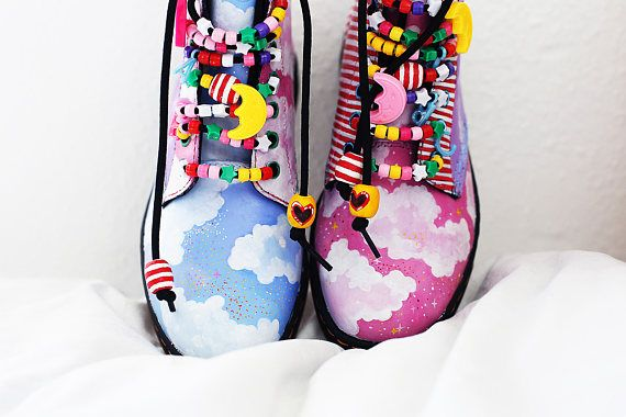 Candy Cloud Dr Martens in 2019 | Doc martens boots, Dr