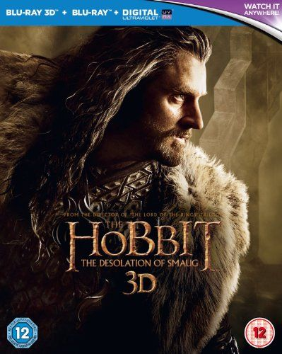 The Hobbit: The Desolation of Smaug [Blu-ray 3D  Blu-ray] [2013] @ niftywarehouse.com #NiftyWarehouse #LOTR #LordOfTheRings #Movies #Geek #Nerd #Books #Fantasy