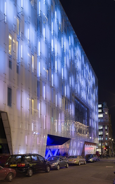 2076 best building facade lighting images on pinterest for Building exterior lighting design