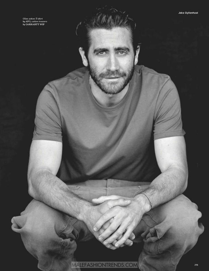 Jake Gyllenhaal por Matthew Brookes para GQ Style UK en ...