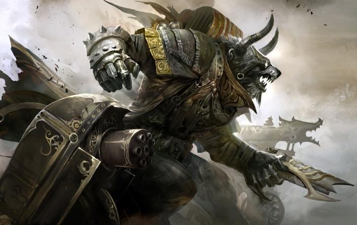 Charr Engineer: Guildwars2, Kekai Kotaki, Concept Art, Videos Games, Illustration, Charr Engine, Guild War 2, Guild Wars, Games Art