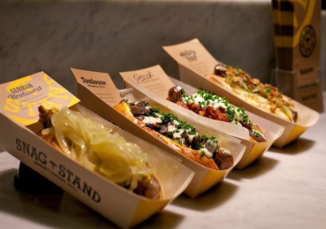 Gluten Free Options in the Westfield Sydney Food Court.