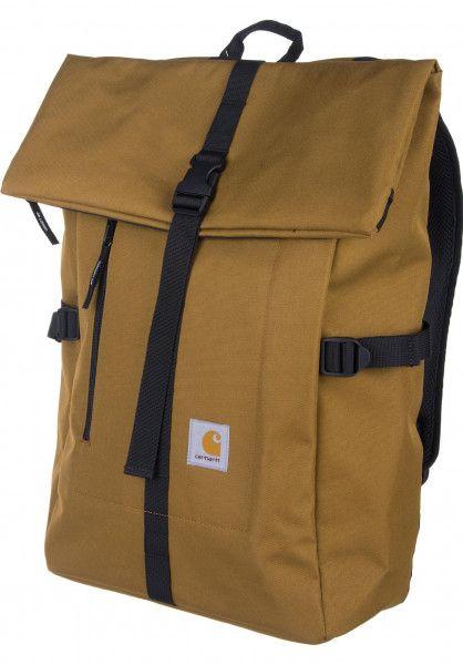 Carhartt WIP Rucksäcke Phil hamiltonbrown Vorderansicht   Leder in 2019    Pinterest   Bags, Backpacks und Backpack bags 64308ed2c7