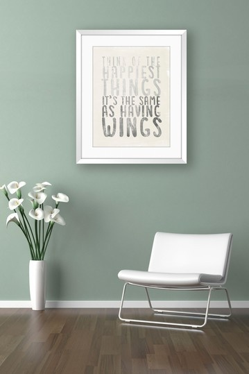 Peter Pan Inspired Framed Giclee Wall Art by The Power Of Words on @HauteLook