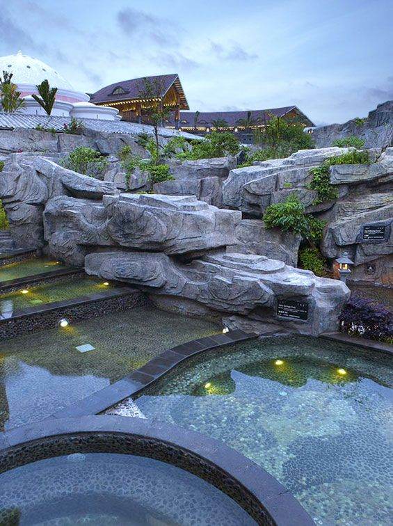 Mission Hills Hot Springs and Spa | Haikou China | EDSA « World Landscape Architecture – landscape architecture webzine