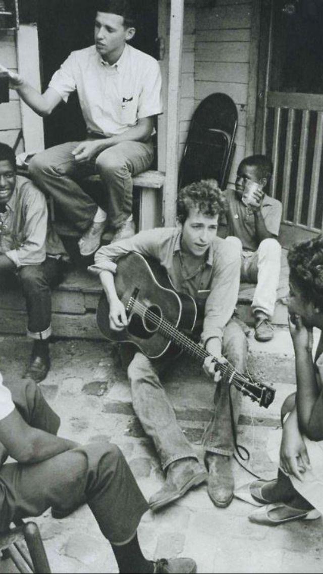 Dylan. Activist, Singer/Songwriter. Iconic.