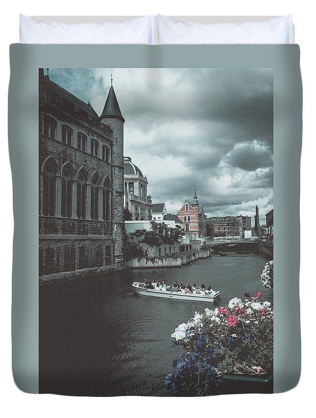 Travel Duvet Cover featuring the photograph The City Of Flowers by Elena Ivanova IvEA  #ElenaIvanovaIvEAFineArtDesign #ForHome #DuvetCovers #Gift