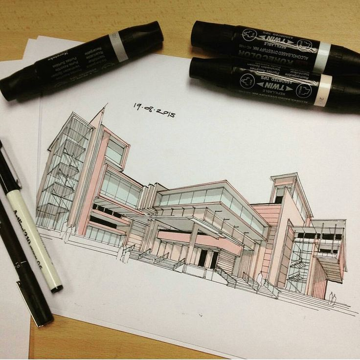 Architect Design Sketches best 25+ architectural sketches ideas only on pinterest