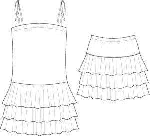 Lulu nederdel/kjole 2-14år Nederdel og kjole Lulu Nederdel/kjole 2 (4) 6 (8) 10 (12) 14 sværhedsgrad 1 Beskrivelse Rundskåret nederdel med hofte stykke og elastik i taljen. Nederdelen har en længde til over knæet. Modellen kan også syes som kjole. Model A: nederdel Model B: Kjole Det skal du bruge Stof forbrug: § 100 (110) 120(210) 250(280) 305 cm fast stof til model A, bdr. 140 cm §100 (110) 120 (185) 225 (255) 280cm fast stof til model B, bdr. 140 cm §30 (35)35 (40) 45 (45) 50 cm rib til…