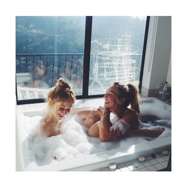 Someone bathe with me!!!! Please pxetic ❤ liked on Polyvore featuring pictures, couples, backgrounds, girls and lesbian