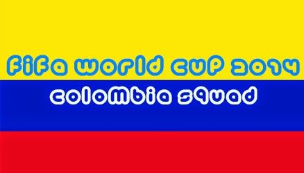 FIFA WORLD CUP 2014 COLOMBIA SQUAD http://www.fifaworldcup-2014.info/2014/06/fifa-world-cup-2014-colombia-football-team-squad-player-list.html