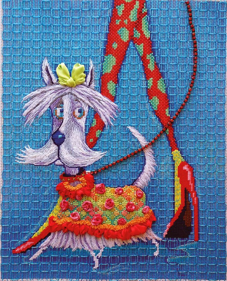 Rug Dogs Embroidery Designs: 337 Best Needlepoint Cats And Dogs Images On Pinterest