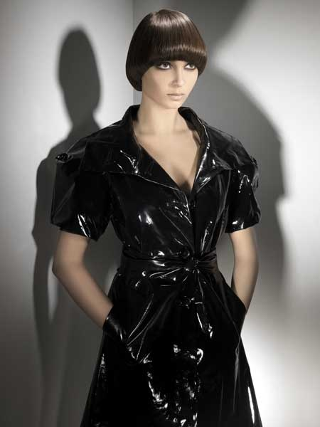 #Pageboy, #precisionhair, #sharplines, #fringe, #shine, #shadows, awesome jacket, just a great look all around
