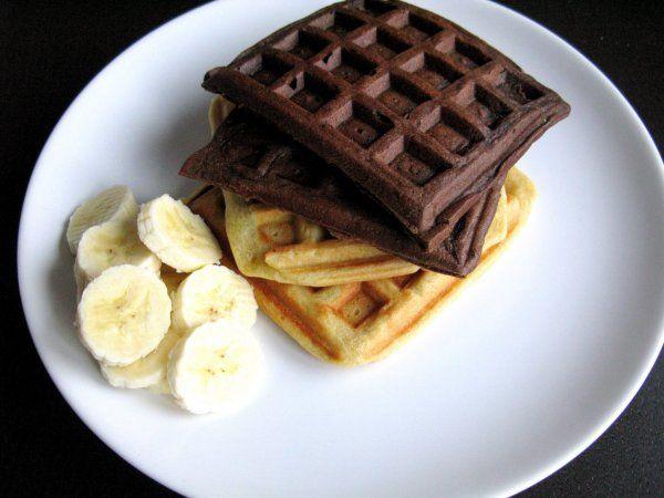 csokis banános goffri