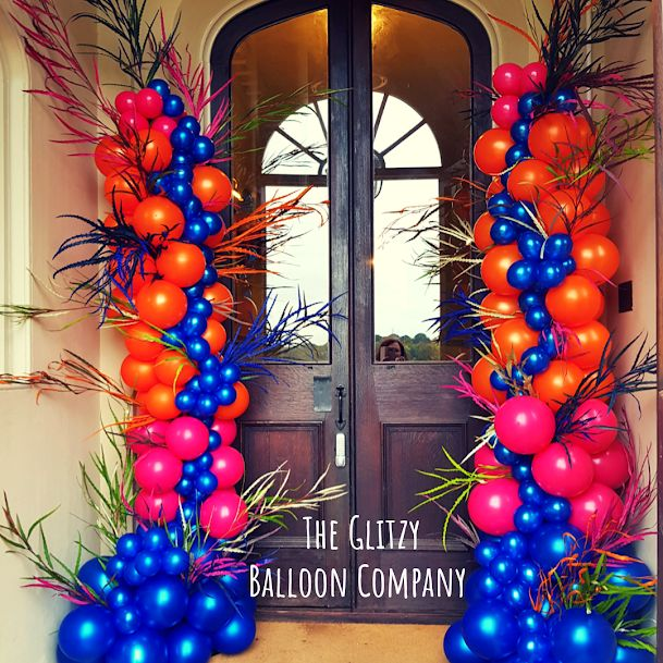 I just love the colour combo of this one, what a fabulous entrance to any event.  #nursteadcourt  #eastmalling #westmalling #heliumballoons #personalisedballoons #balloonsurprise #weddingballoons #partyballoons #balloonsdecor #balloonsetup #confettiballoons #prilaga #balloonservice #balloonsshop #balloonsquad #balloonspecialist #balloonsparty #birthdayballoons #balloons #balloonsbouquet #balloons🎈