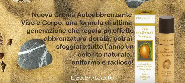 #autoabbronzante http://www.erbolario.com/prodotti/646_sole_e_aria_aperta_crema_autoabbronzante_viso_e_corpo