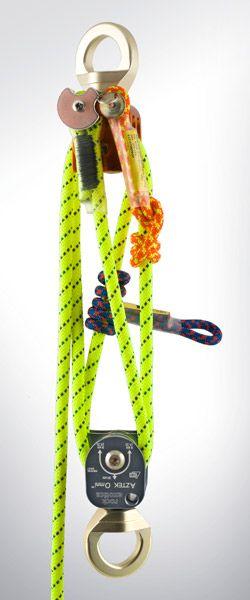 Rock Exotica Climbing Gear - Aztec Pulleys - compact mechanical advantage system
