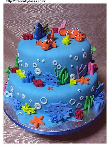 I can only hope my Son gets obsessed with Nemo between now and December so I can make this for his Birthday.