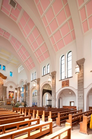 Dulux Trade helps St Teresa's shine for it's Golden Jubilee  http://dulux.trade-decorating.co.uk/case_studies/dulux_trade_helps_st_teresas_shine.jsp#